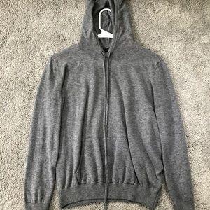 gray brandy hoodie